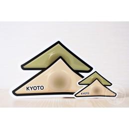 Yatsuhashi à l'anko (Kyôto)