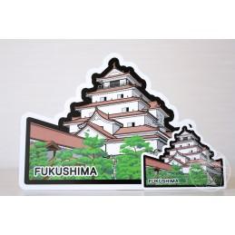Château d'Aizu-wakamatsu (Fukushima)