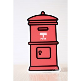 Postbox - red (2017)