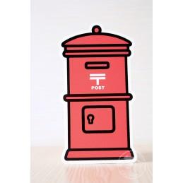 Boite postale - rouge (2017)