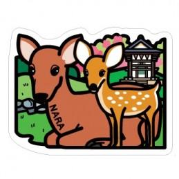 Biche et cerf Shika (Nara)
