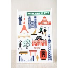 【Postcard】Tôkyô 01
