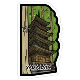 (Yamagata) Five-storey Pagoda Of Mount Haguro