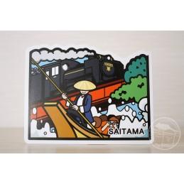 Steam Locomotive and Nagatoro (Saitama)