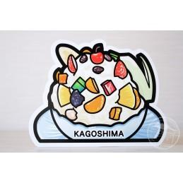 Shirokuma ice cream (Kagoshima)