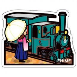 Train Botchan et Madonna (Ehime)