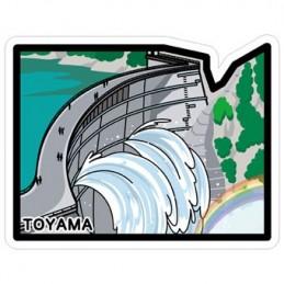Barrage de Kurobe (Toyama)