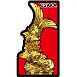 Ôsaka Castle's Shachi-hoko...