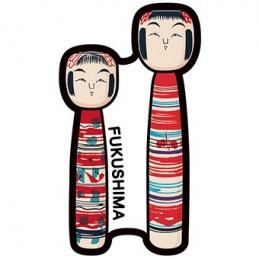 Kokeshi de style Tsuchiyu...