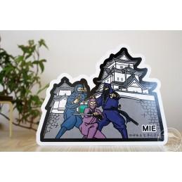 伊賀流忍者 with 上野城(三重)