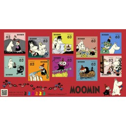 【Timbres】 Moomin (2021 - 63円)