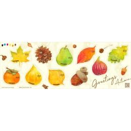 【Stamps】Autumn (2020 - 63円)