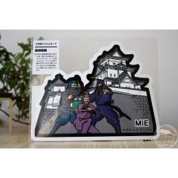 Iga-ryû Ninja and Ueno Castle (Mie)