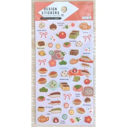 【Stickers】Japanese Sweets
