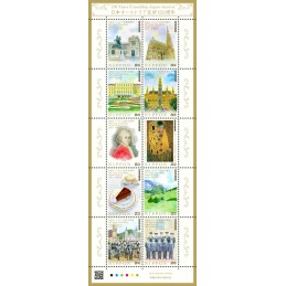 【Stamps】150 Year Friendship...