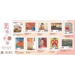 【切手】美術の世界シリーズ 第2集(2020年・63円)