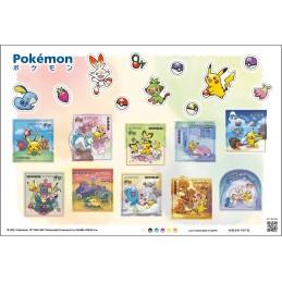 【Stamps】Pokémon (2021 - 63円)