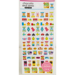 【Stickers】Shopping - Toys shop