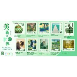 【切手】美術の世界シリーズ 第3集(2021年・63円)