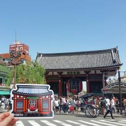 Kaminarimon - Temple Sensô-ji (Tôkyô)