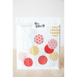 Gift Bag Red and Gold Balloon