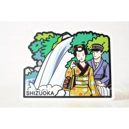 "Cascade Shokeidaru et la statue ""La danceuse et moi"" (Shizuoka)"