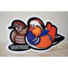 Canard mandarin (Tottori)